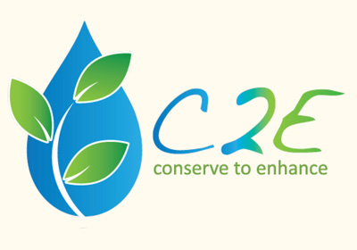 C2E can make your water conservation really count and fund your neighborhood restoration project!