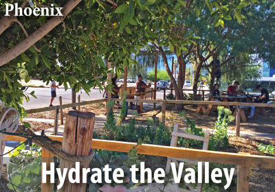 WMG wants to hydrate your neighborhood with a six-part project series in Phoenix, Tempe, Mesa, and Glendale.