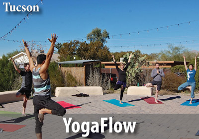 WMG brings you the gift of health and vitality with YogaFlow on our garden plaza!