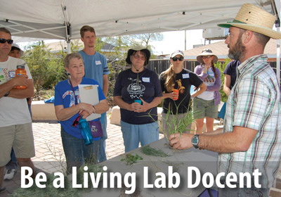 Join our highly-trained and dedicated volunteer crew of Living Lab docents.