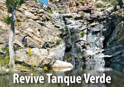Check out our companion campaign to Revive Tanque Verde.