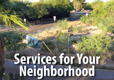 Let us transform your neighborhood into a more walkable, bikeable, people-friendly place.