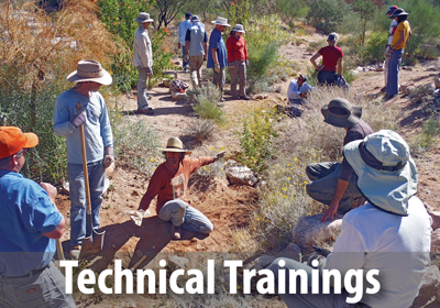 WMG offers a variety of trainings to deepen your water-harvesting knowledge.