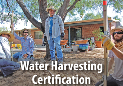 Our Certification offers you the highest quality and greatest depth of training in integrative water harvesting.