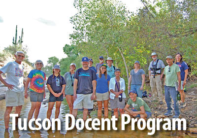 Learn about the Tucson docent program