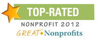 Great non-profits top rated of 2012