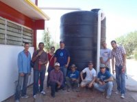 Group photo - finished cistern install