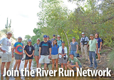 A network for Tucsonans to join forces and restore our heritage of flowing rivers.