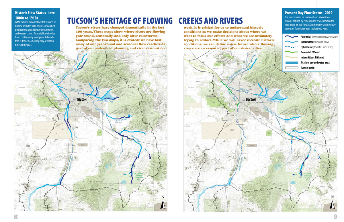 Tucson's heritage of flowing creeks and rivers
