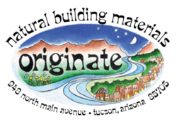 Originate Natural Building Materials logo