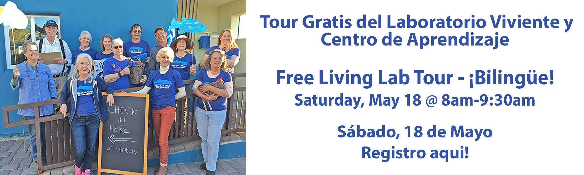 Bilingual Living Lab Tour May 18 2019