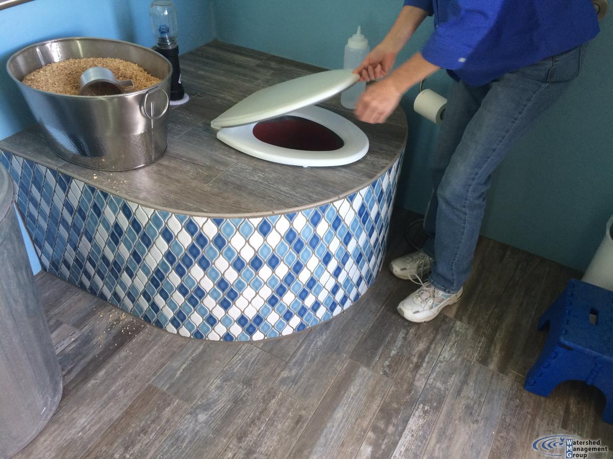 Composting toilets are leaky jobs | Watershed Management Group