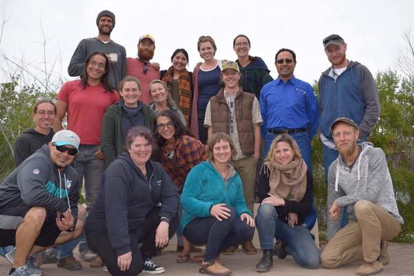 Spring 2019 Water Harvesting Design Certification course participants