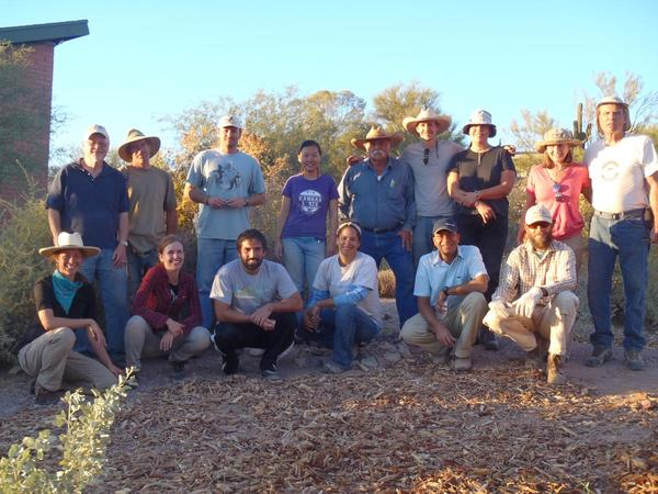Fall 2012 Water Harvesting Design Certification course participants