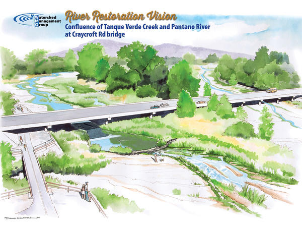 Illustration of WMG's 50-year vision for the Lower Tanque Verde