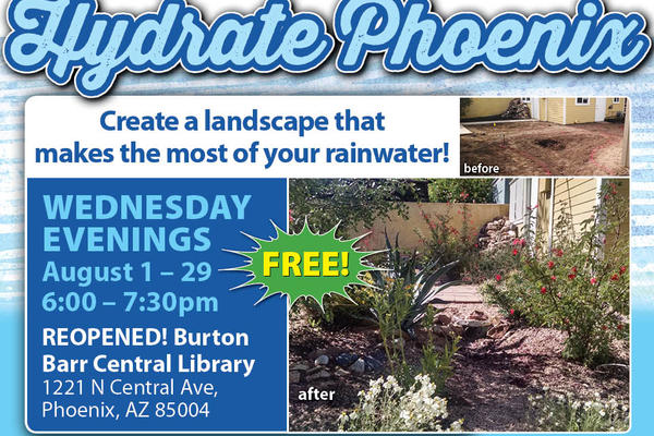 Learn how to conserve water & create a lush Sonoran landscape!