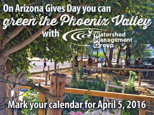 Help Green the Phoenix Valley on Arizona Gives Day