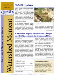 2007 Winter WMG Newsletter cover