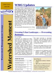 2008 Spring WMG Newsletter cover
