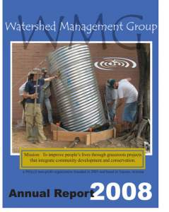 2008 WMG Annual Report cover