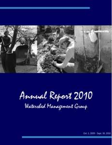 2010 WMG Annual Report cover