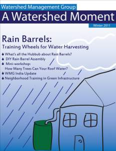 2011 Winter WMG Newsletter cover
