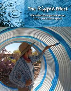 2011 Watershed Management Group Annual Report cover