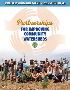 2012 Watershed Management Group Annual Report