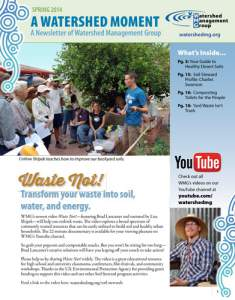 2014 Spring WMG Newsletter cover