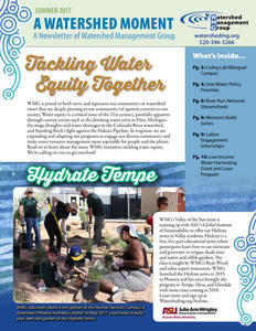 2017 Summer WMG Newsletter cover