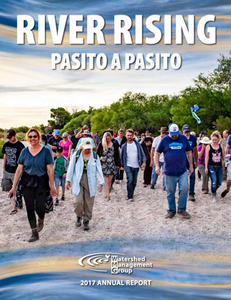 2017 WMG Annual Report: Pasito a Pasito cover