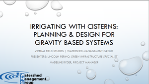 Virtual Field Studies Gravity Irrigation Presentation