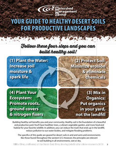Your guide to healthy desert soils for productive landscapes
