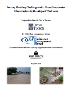 Solving Flooding Challenges with Green Stormwater Infrastructure in the Airport Wash Area