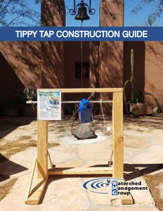 Cover of Tippy Tap Handwashing Station Construction Guide