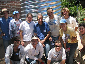 One of WMG's first cistern installations, back in 2008.