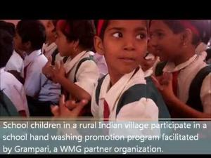 Embedded thumbnail for WMG Founders' Field Blog # 5 -- India: Hand Washing and Tippy Taps!