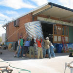 2007: Teach 16 community water-harvesting workshops in Tucson, including the first Earth Day event with 50 volunteers.