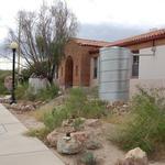 2009: Work with Manzo Elementary in Tucson to install rain tanks and rain gardens through Schoolyard program, funded by U.S. Fish and Wildlife Service.