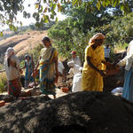 2012: Create Drinking Water program in India through spring box and watershed restoration with three villages and local partner Grampari.