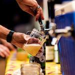Pueblo Vida brew on tap