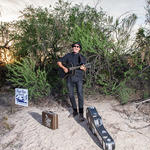 Local musician Carlos Arzate performs Sonoran Soul music.
