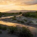 confluence-flow-sunset