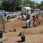 WMG projects can lead a volunteer Co-op crew to install your rain garden.