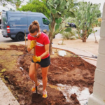 """We're working on digging rainwater basins before the monsoon season starts. Thank you to @watershed_mg for the education and inspiration."" - Christina F."