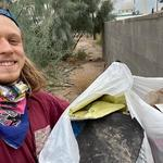 """The trash was in my back alley and around the neighborhood on the streets, I filled up two small bags and a large one!"" - Brandon W,"