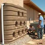Plastic rain tanks come in a variety of sizes and styles to fit your needs and space.