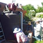 WMG's project manager will lead your volunteer Co-op crew or contract labor to ensure proper rain tank installation.