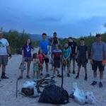 """Here are some pics from walking the washes for trash in neighborhood."" - Drummond and Radomsky families"