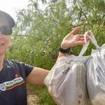 """Thanks for encouraging everyone to keep our community clean and keep garbage out of the waterways."" - Heather H."